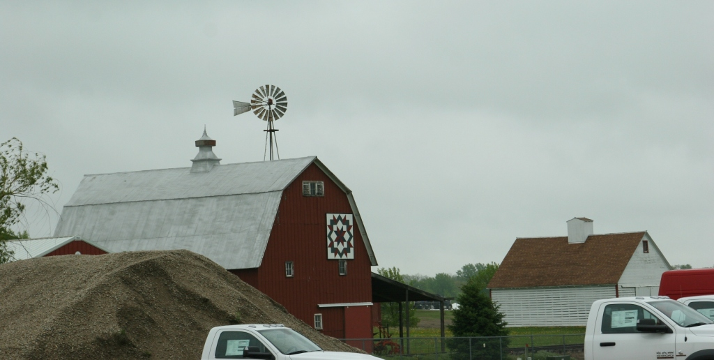 My first glimpse of Heritage Park of North Iowa, driving into Forest City from the south.