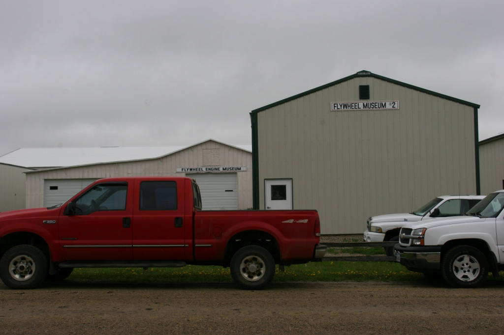 There are even, to my automotive machinist husband's amazement, two buildings devoted to flywheels.