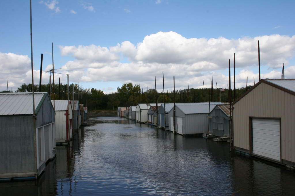 The historic Boat House Village draws lots of interest.