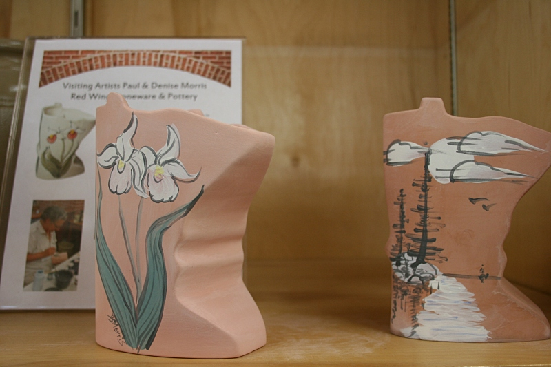 More Morris Pottery art.