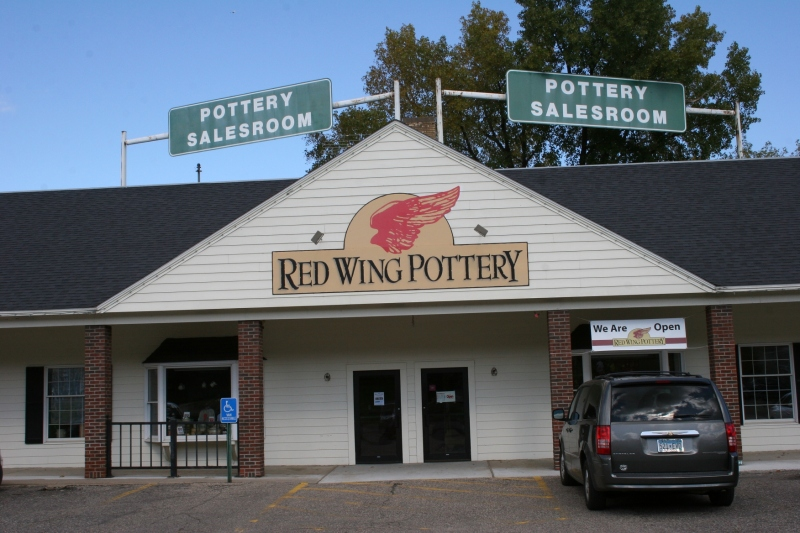 Red Wing Pottery on Old West Main.