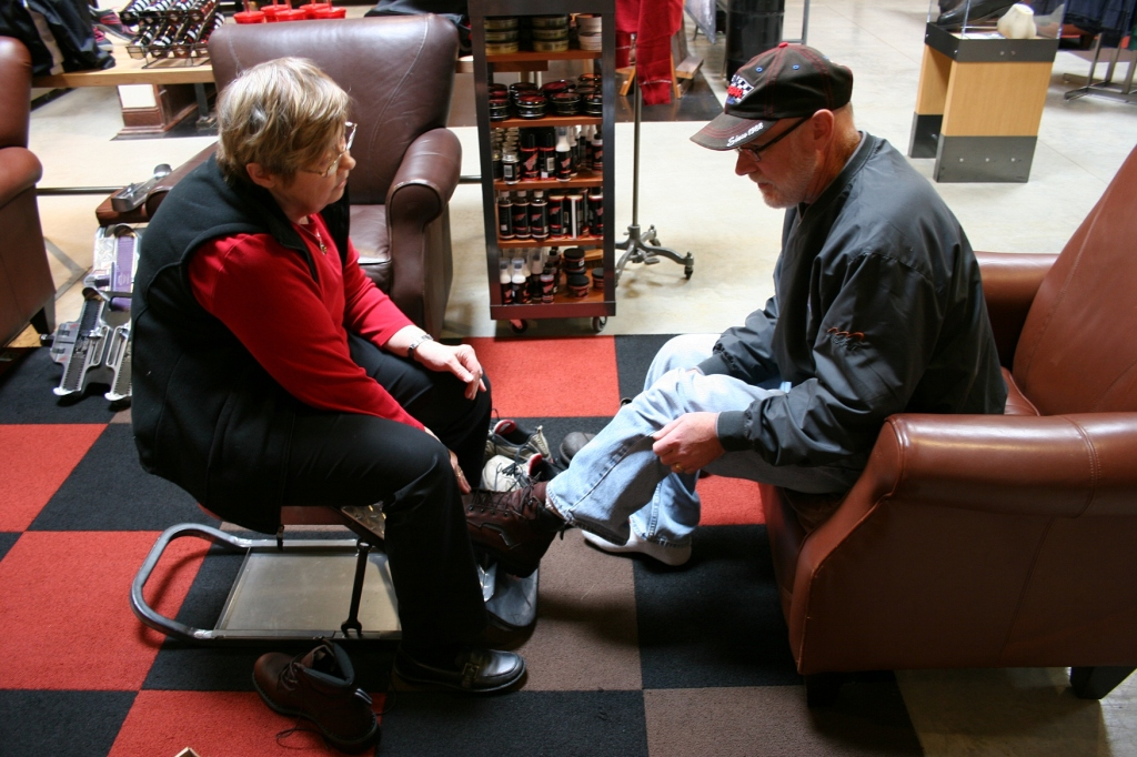 Randy received great one-on-one attentive customer service.