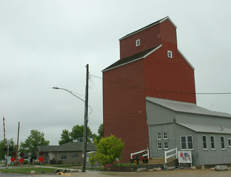 Just another view of the historic elevator. We should have stopped to inquire about its current usage and history.