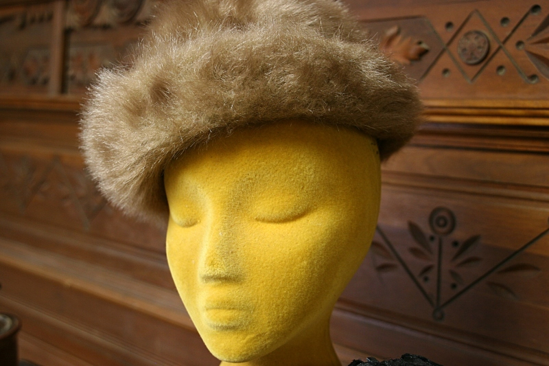 Audre's Attic, hat on yellow head