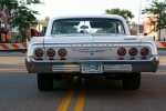 Car show, back of 64Chevy