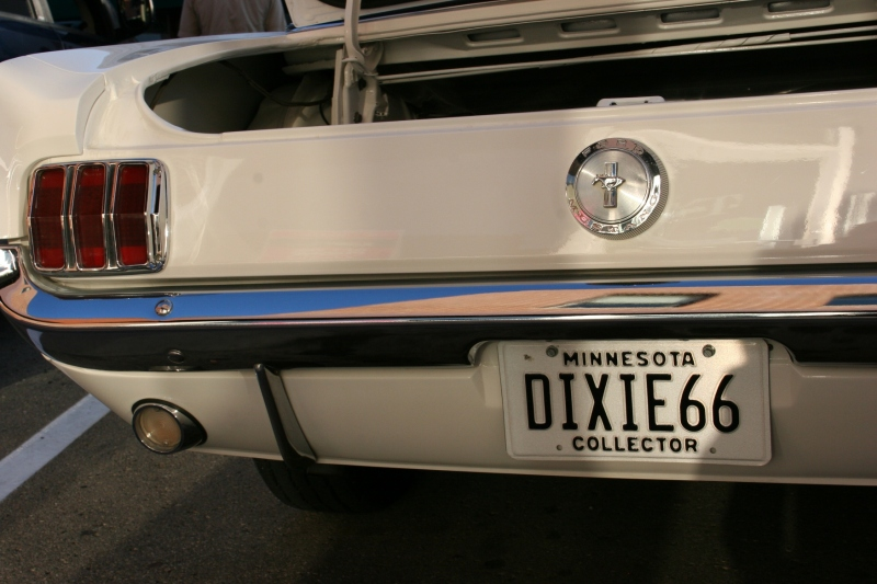 I have no idea what Dixie 66 means. But there are always interesting plates on these vehicles.