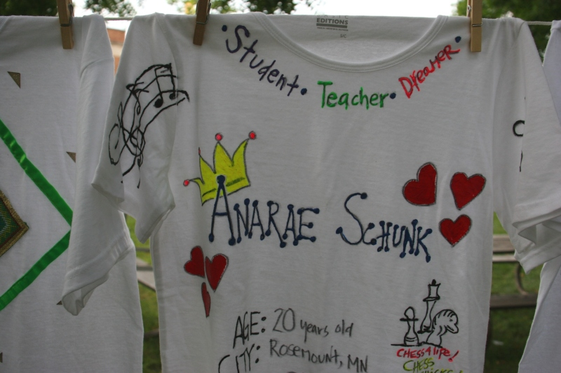 Clothesline Project, Anarae Schunk