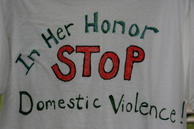 Clothesline Project, in her honor