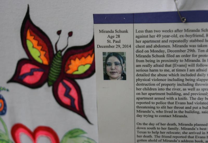 Clothesline Project, Miranda Schunk