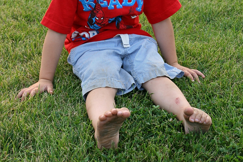 Little hands and feet got dirty. But no one cared.