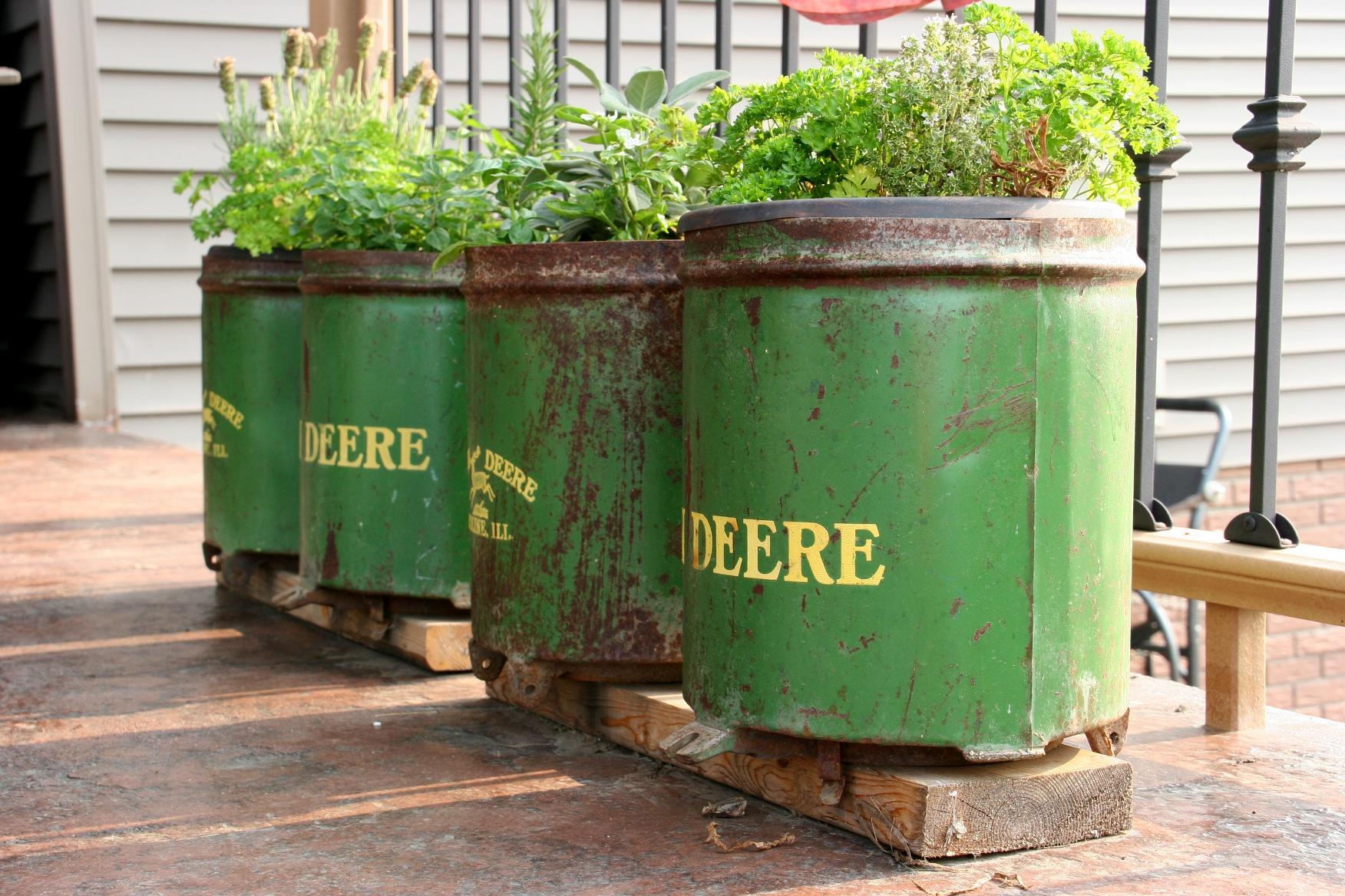 John Deere Flower Pots : For the love of flowers minnesota prairie roots