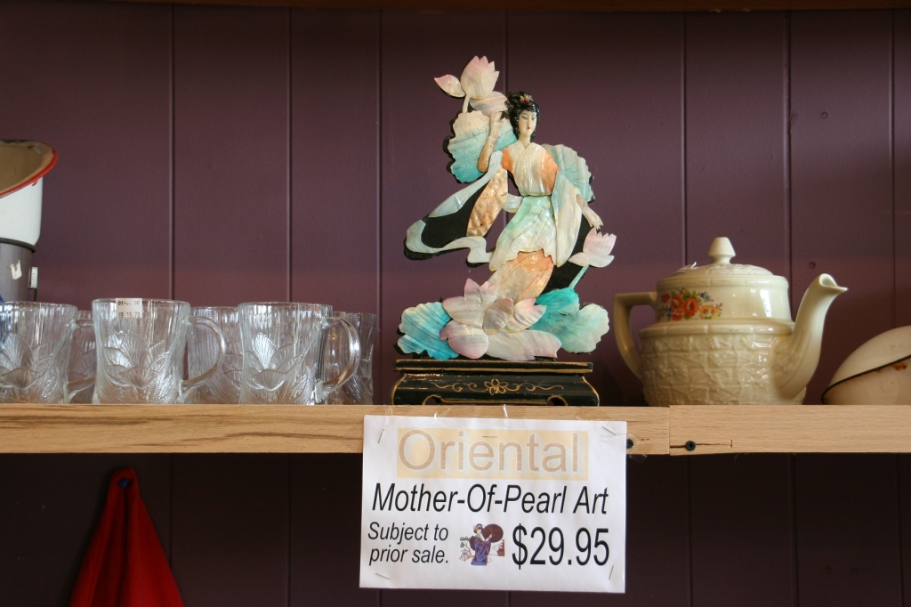 Jim's Antiques, Mother of Pearl merchandise