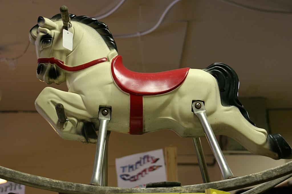Jim's Antiques, rocking horse