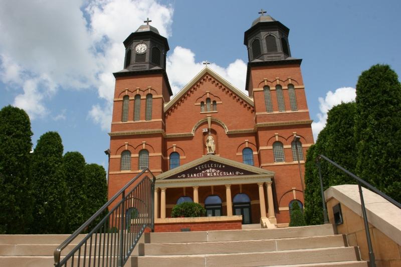 The Church of St. Wenceslaus, New Prague, Minnesota.