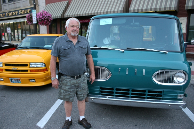 Our friend Larry with his restored