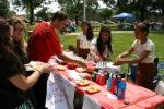 Festival, Cambodian foodvendors