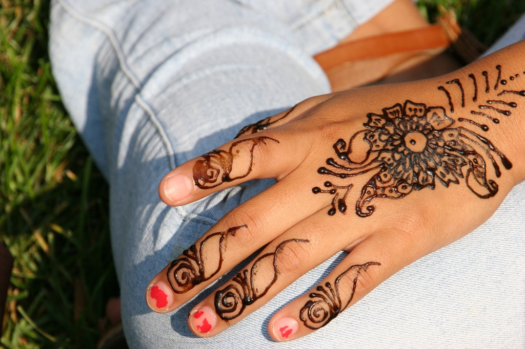 Beautiful henna art.