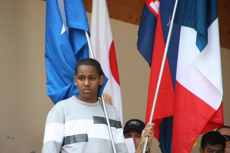 This teen represented Somalia.