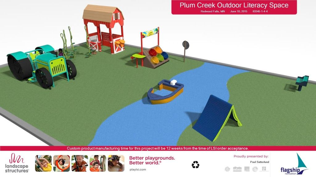 Just another view of the planned literacy area. Image courtesy of the Redwood Falls Public Library.