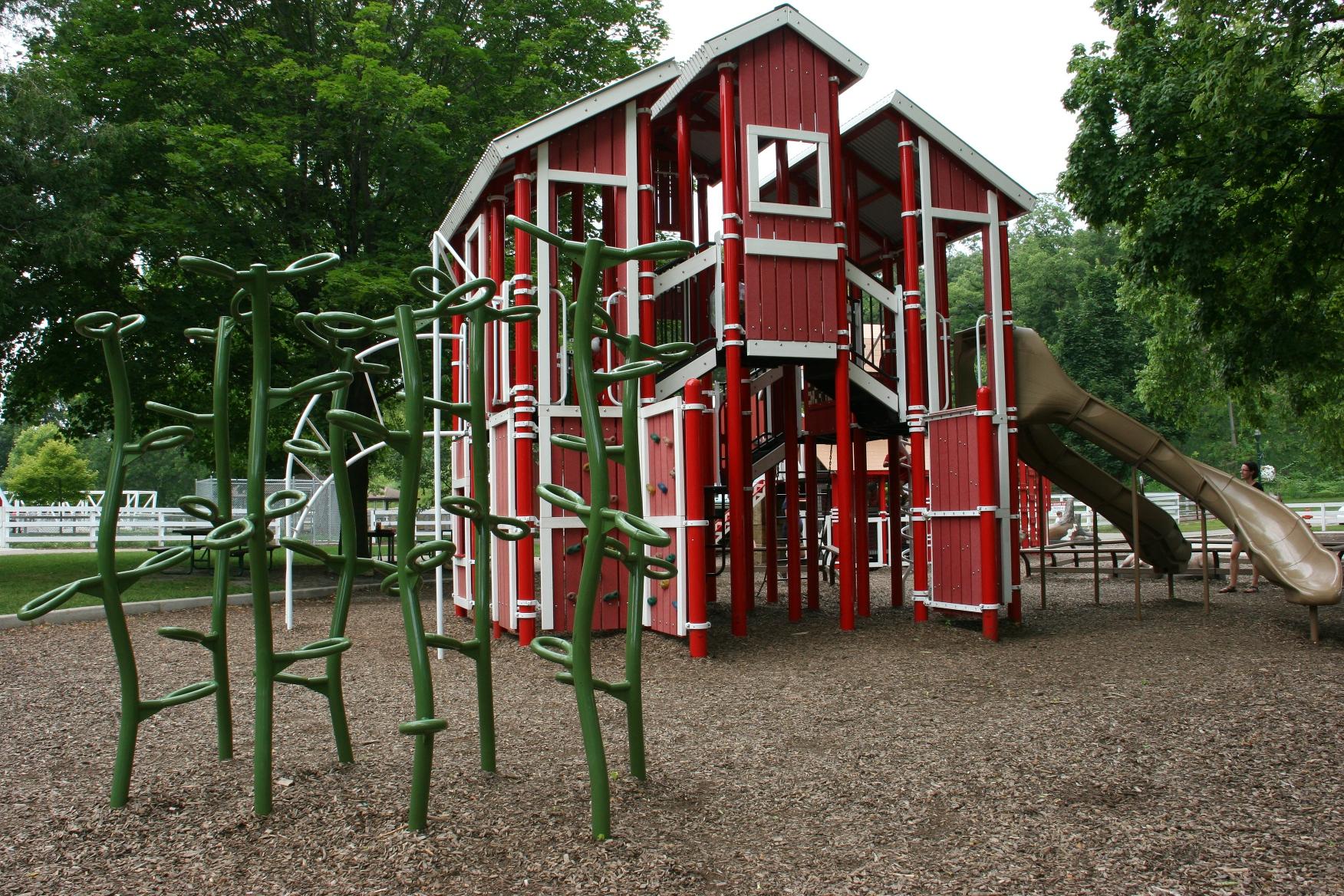 An old macdonald style park in mankato minnesota prairie for Playground equipment ideas