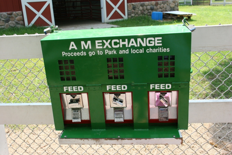Bring coins so kids can feed the animals.