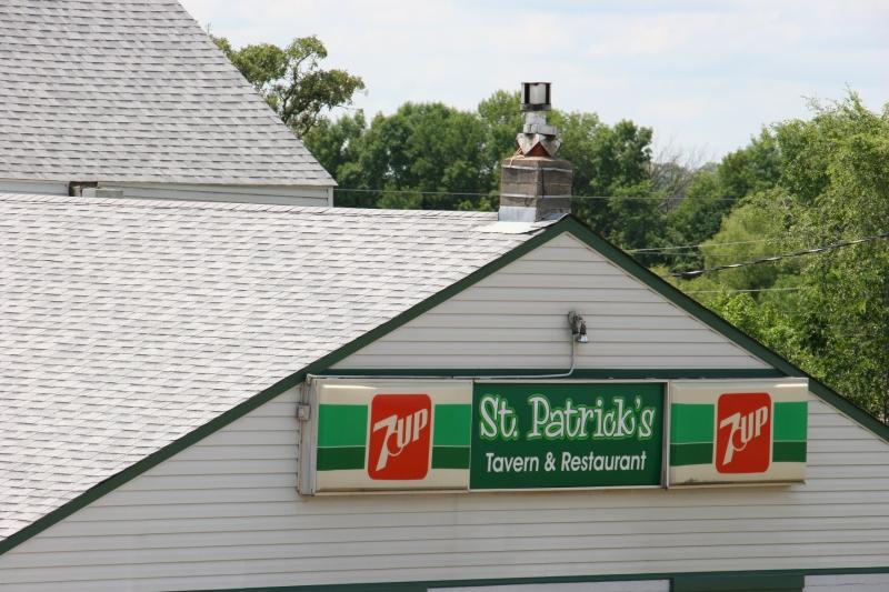 More signage on St. Patrick's Tavern.