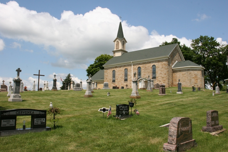 St. Patrick Catholic Church of Cedar Lake Township.