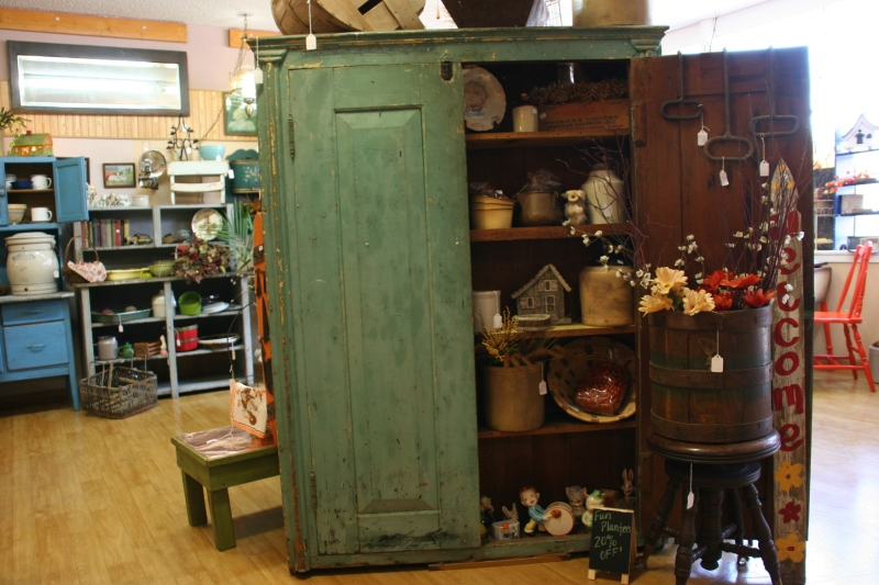 This beautiful cupboard was acquired from a local and had been in the family for generations. It's not for sale.
