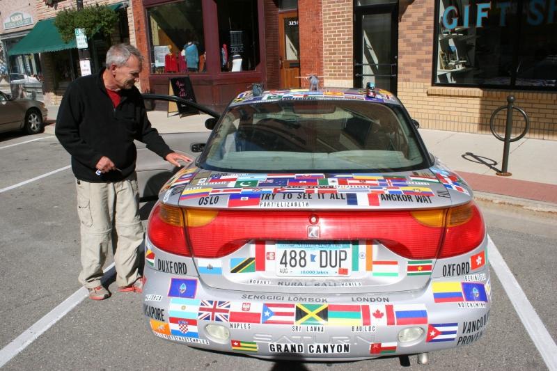 Art car, Michael in photo
