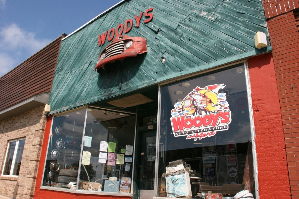 Woody's Auto Literature and More in West Concord, Minnesota.