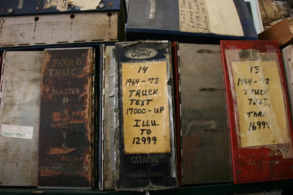 Well-worn manuals...