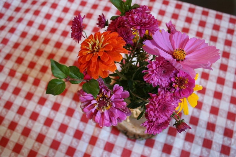 Barn dance, 30 bouquet