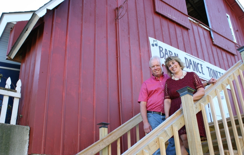 John and Debbie Becker purchased the farm from John's dad, Herb, in 1988.