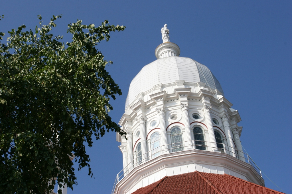 And the landmark dome.