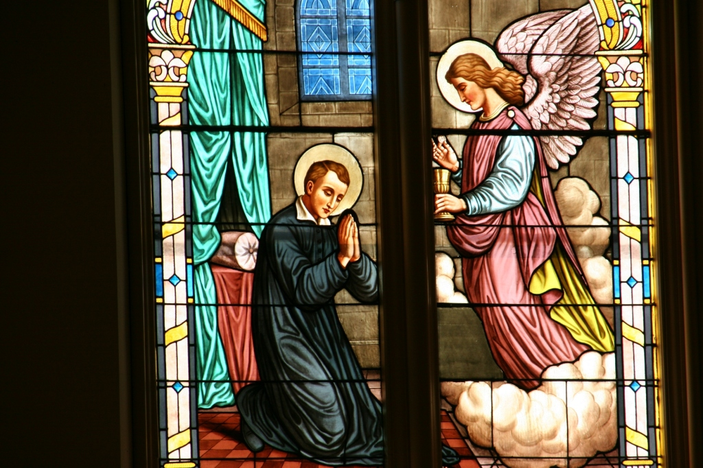 I expect many a worshiper has found comfort in these stained glass windows.