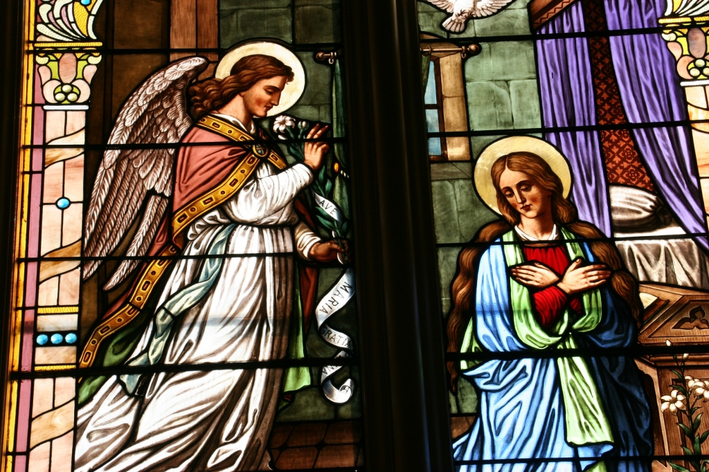I'm certain the scenes in each stained glass window hold religious significance.