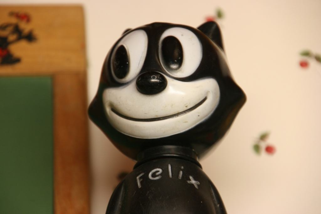 When I was growing up, Felix the Cat with his magical bag of tricks was my favorite cartoon.