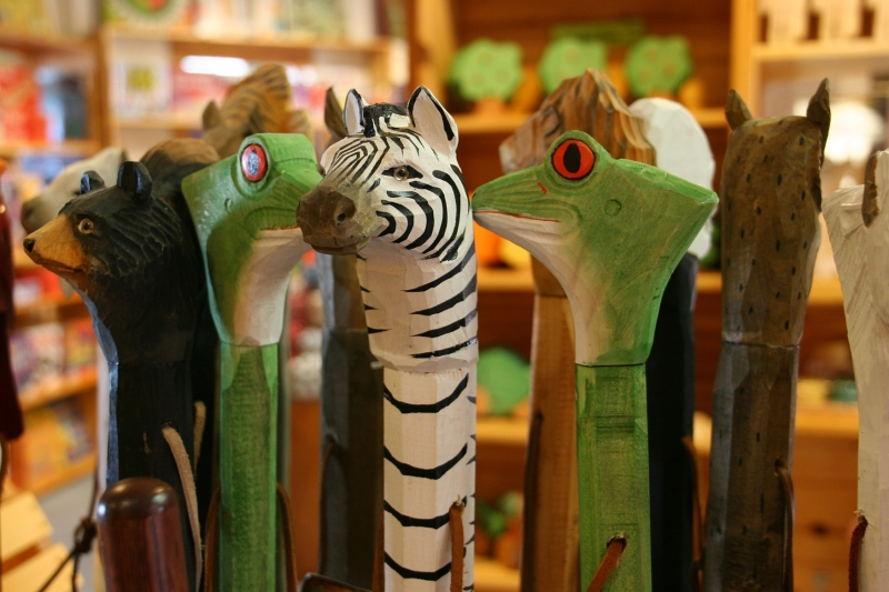 Fun walking sticks.