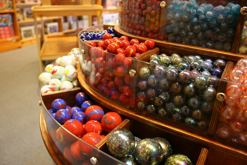 LARK Toys offers a vast selection of marbles.