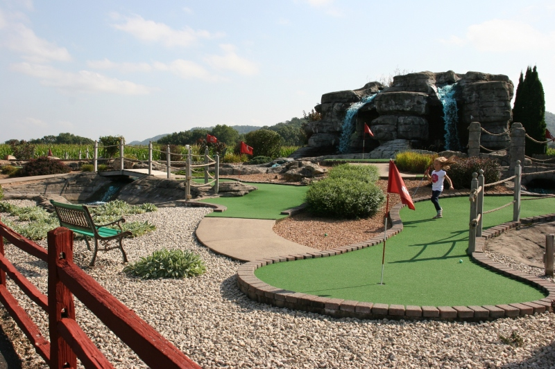 There's fun outdoors, too, with mini golf and llamas to observe.