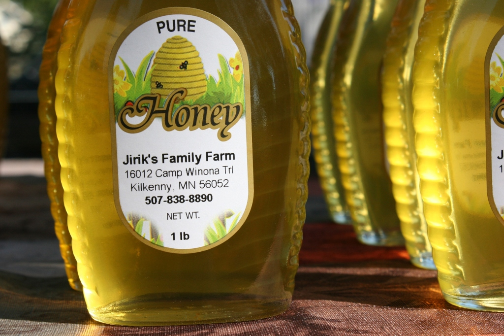 And then purchase a jar of beautiful honey.