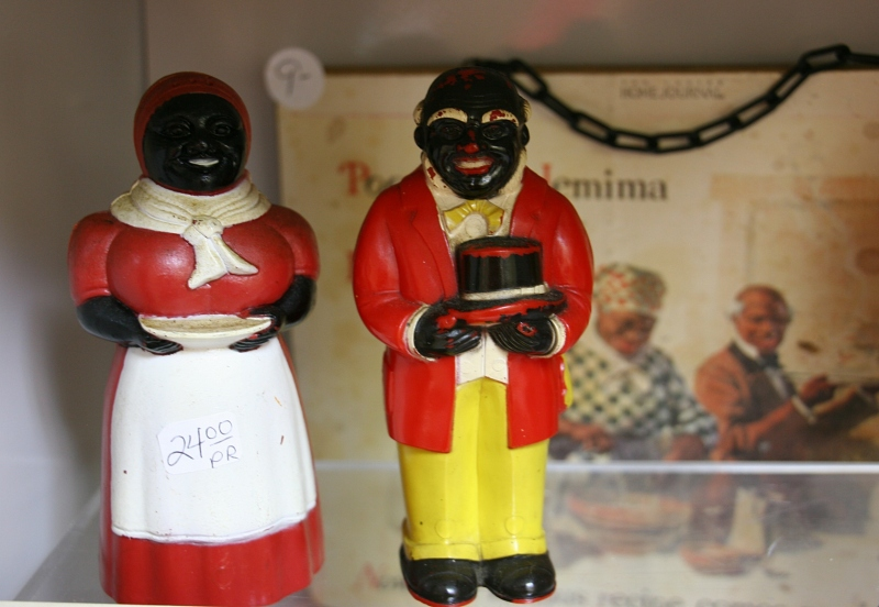 Aunt Jemima and Uncle Mose collectibles.