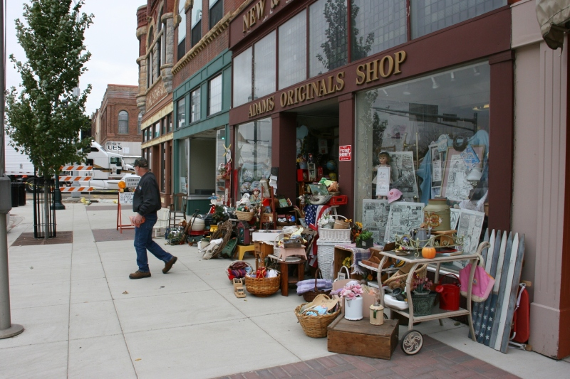 Adams Originals Shop, 238 S. Broadway Avenue, Albert Lea, Minnesota.