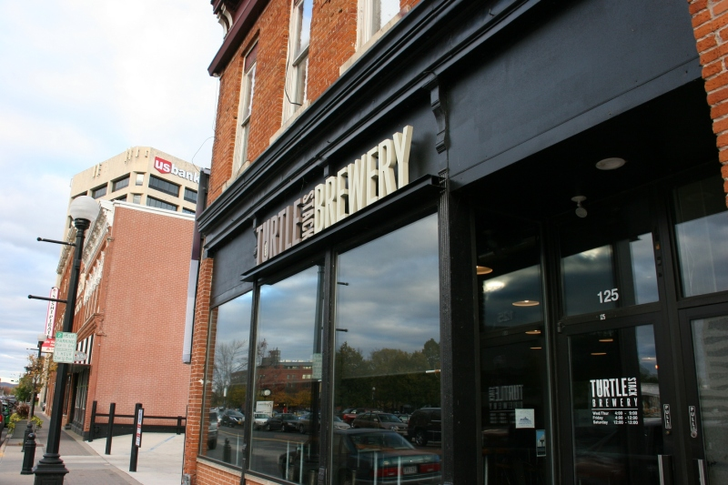Turtle Stack Brewery, 125 Second Street South in downtown La Crosse.