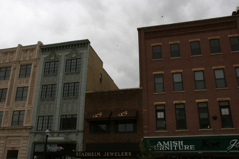 Historic buildings in Albert Lea, 57 tops of buildings