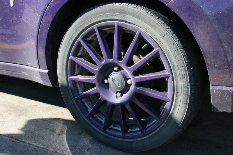 MN Vikings fan, 73 wheel of Vikings car