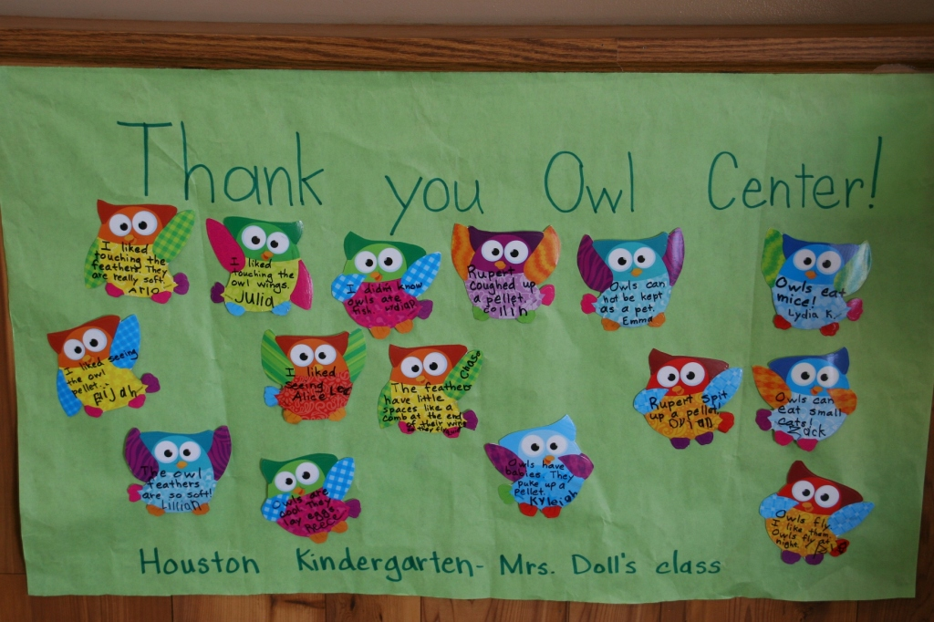 The International Owl Center serves as a great resource for area schools.