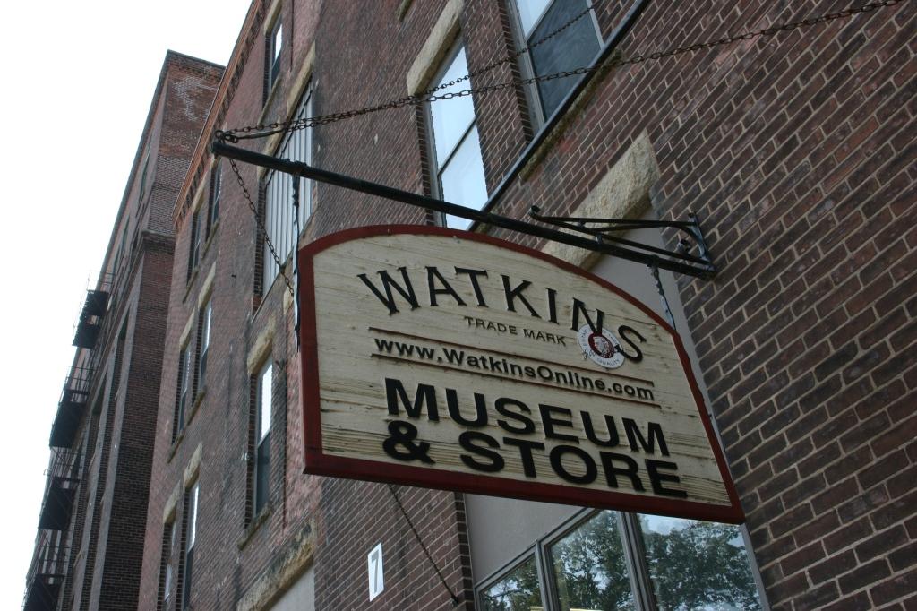 Watkins, 451 exterior sign