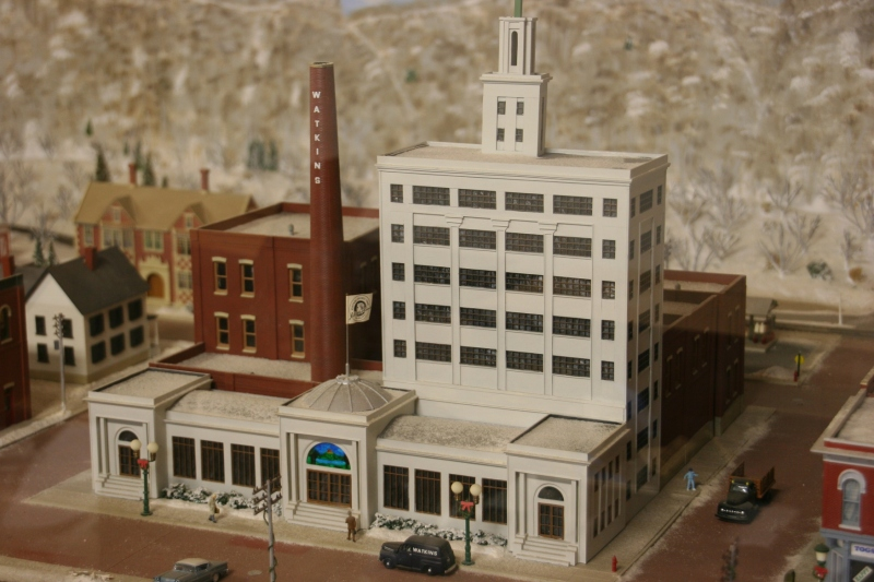 There's a model of Winona, including the Watkins complex, in the museum.