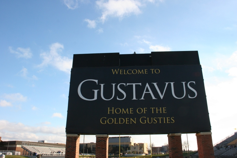 Gustavus Adolphus College in St. Peter hosted the game.
